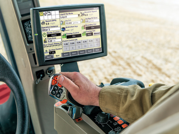 Precision Farming Displays only at Red Power Team