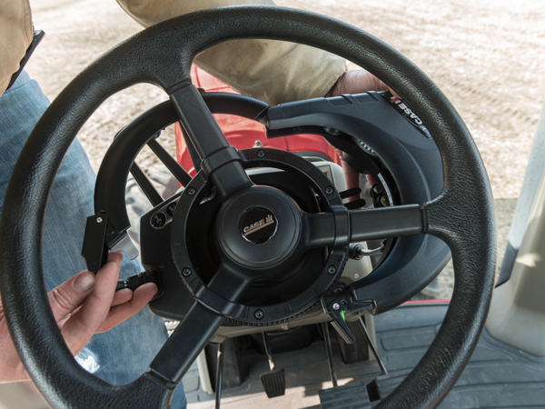 Precision Farming Steering only at Red Power Team