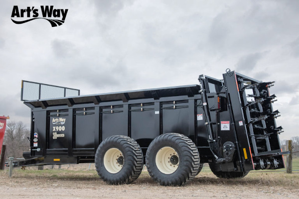 Art's Way | Truck Mount Vertical Manure Spreader | Model X900 Manure Spreader for sale at Red Power Team, Iowa