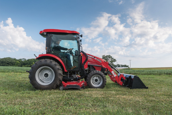 Case IH | Compact Farmall C CVT Series | Model Compact Farmall 55C CVT for sale at Red Power Team, Iowa