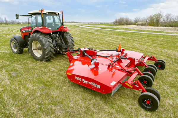 Farm King | Mowers and Cutters | 15' Flex-Wing Rotary Cutter for sale at Red Power Team, Iowa