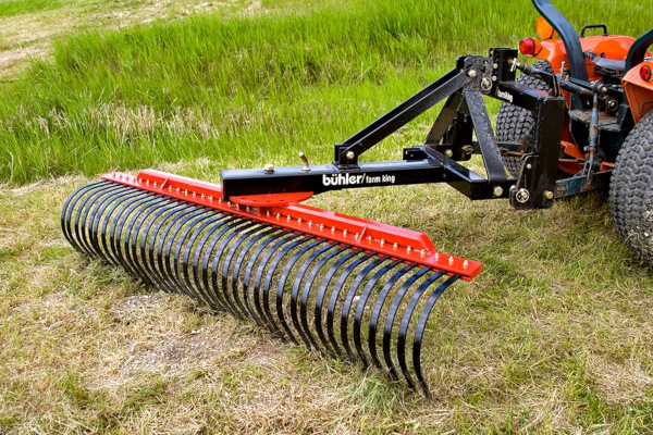 Farm King | Landscaping Equipment | Landscape Rake for sale at Red Power Team, Iowa