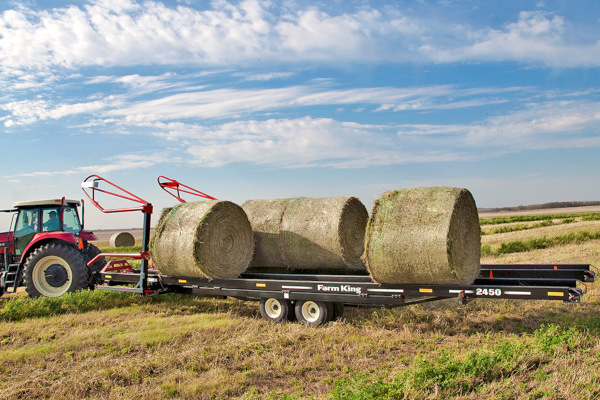 Farm King | Hay Tools | Round Bale Carrier for sale at Red Power Team, Iowa