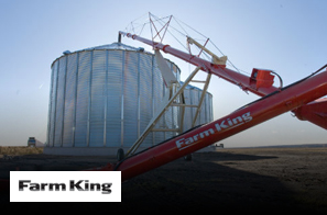 We work hard to provide you with an array of products. That's why we offer Farm King for your convenience.