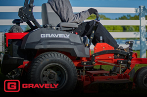 We work hard to provide you with an array of products. That's why we offer Gravely for your convenience.