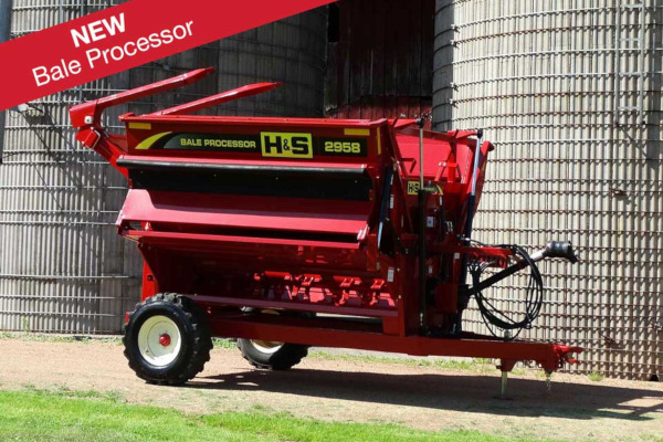 H&S | Bale Processors | Model 2958 for sale at Red Power Team, Iowa