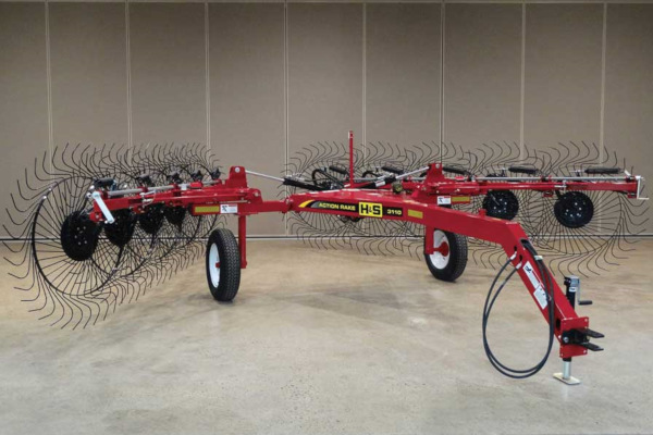H&S | 3100 Series V-Rakes | Model 3108 for sale at Red Power Team, Iowa