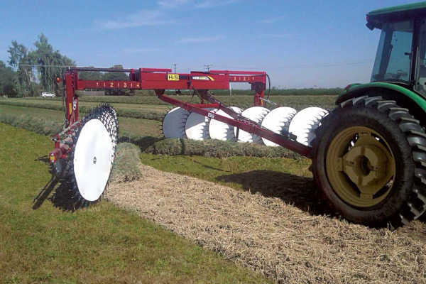 H&S | 8100 SERIES HDII Rakes | Model 19 Wheels for sale at Red Power Team, Iowa