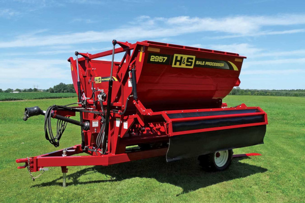 H&S | Bale Processors | Model 2957 for sale at Red Power Team, Iowa