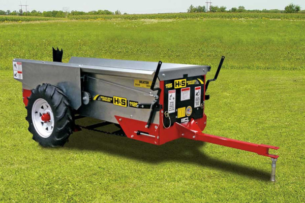 H&S | Ground Drive Manure Spreaders | Model Model 1125 for sale at Red Power Team, Iowa
