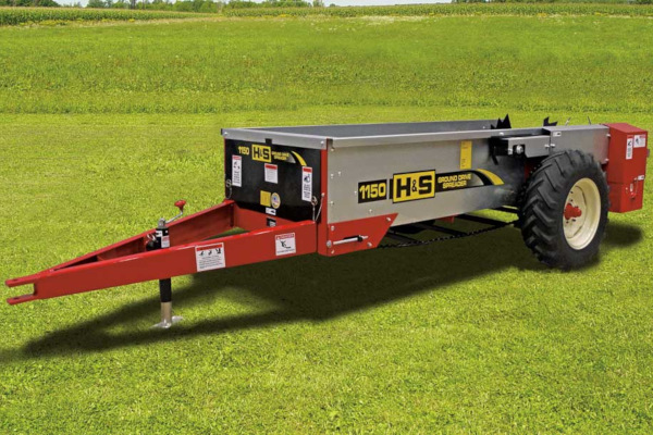 H&S | Ground Drive Manure Spreaders | Model Model 1150 for sale at Red Power Team, Iowa