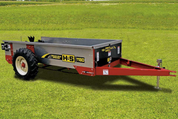 H&S | Ground Drive Manure Spreaders | Model Model 1180 for sale at Red Power Team, Iowa