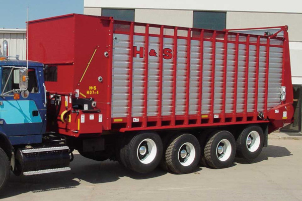 H&S | HDNR Forage Boxes | Model 20' for sale at Red Power Team, Iowa