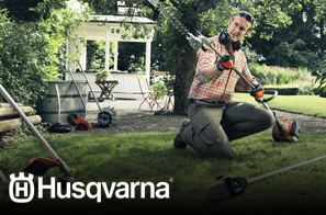 We work hard to provide you with an array of products. That's why we offer Husqvarna for your convenience.