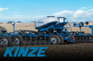 We work hard to provide you with an array of products. That's why we offer Kinze for your convenience.