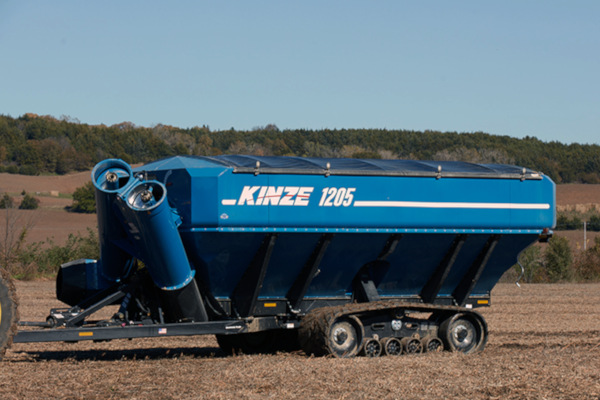 Kinze | Dual Auger Grain Carts | Model 1205 Grain Cart for sale at Red Power Team, Iowa