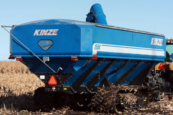 Kinze | Dual Auger Grain Carts | Model 1500 Grain Cart for sale at Red Power Team, Iowa