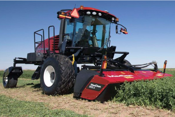 MacDon | M1 Series Windrower | Model M1170 for sale at Red Power Team, Iowa
