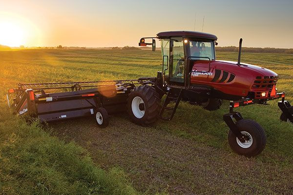 MacDon | M Series SP Windrowers | Model M155 for sale at Red Power Team, Iowa