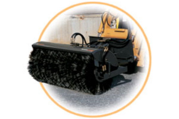 Woods | Skid Steer Attachments | Angle Brooms for sale at Red Power Team, Iowa