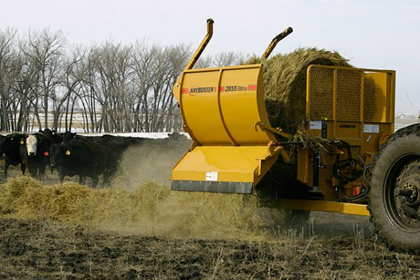 HayBuster | Bale Processors | Model 2655 Balebuster - old  for sale at Red Power Team, Iowa