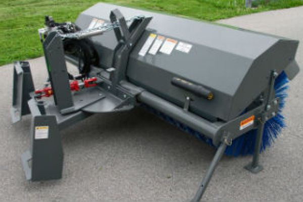 Farm King | Commercial Equipment | Rotary Sweep Skid Steer Mount for sale at Red Power Team, Iowa