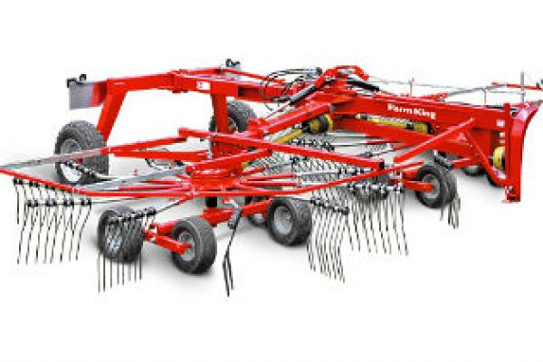 Farm King | Hay Tools | Double Rotary Rake for sale at Red Power Team, Iowa