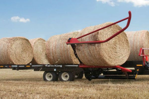 Farm King | Round Bale Carrier | Model 2400 for sale at Red Power Team, Iowa