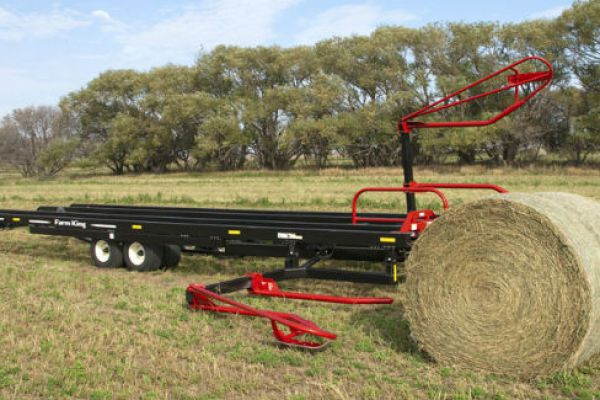 Farm King | Round Bale Carrier | Model 2450 for sale at Red Power Team, Iowa