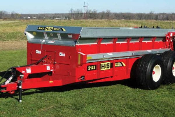 H&S | Heavy Duty Manure Spreaders | Model Model 3143 for sale at Red Power Team, Iowa
