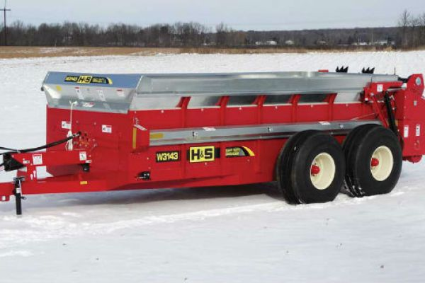 H&S | Heavy Duty Manure Spreaders | Model Model W3143 for sale at Red Power Team, Iowa