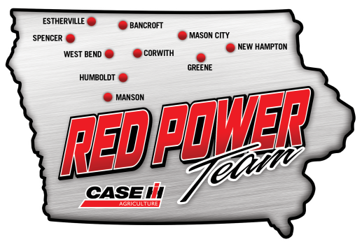Red Power Team Locations Logo